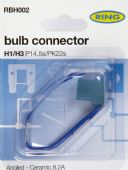 RBH002 H1/H3 CERAMIC BULB HOLDER - ANGLED CABLE